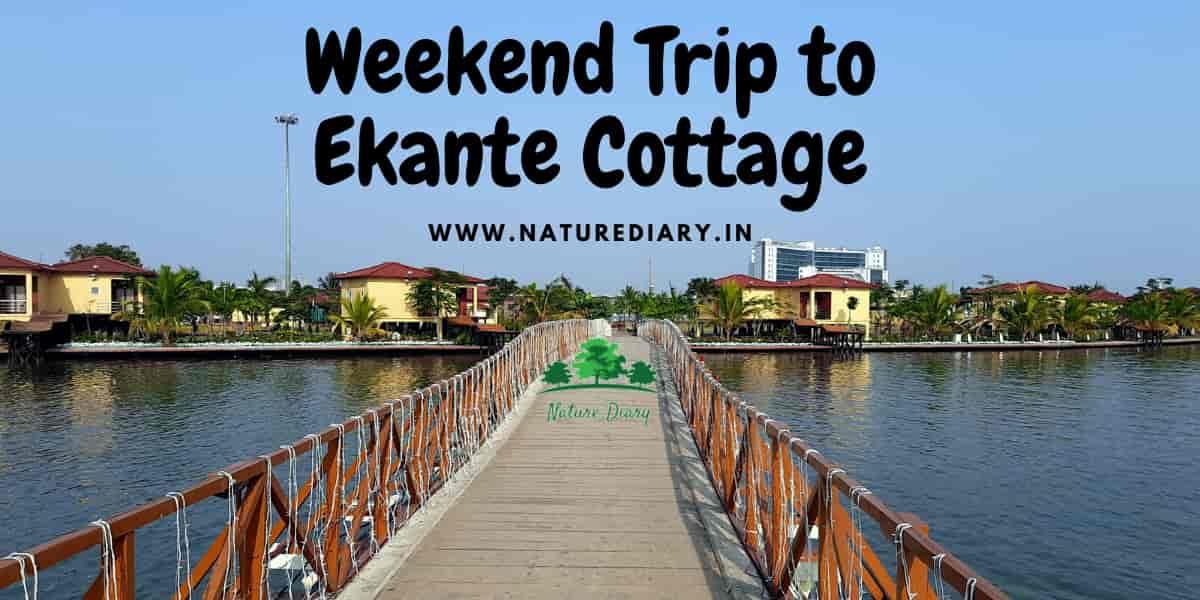 ekante cottage weekend trip