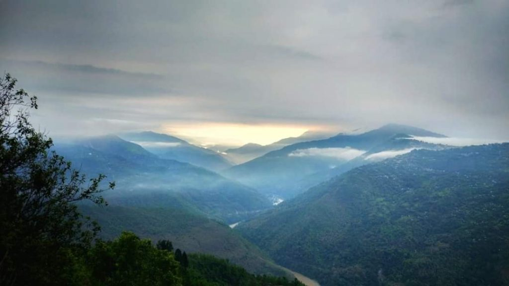 sunrise at chota mangwa