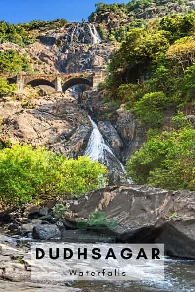 dudhsagar- biggest waterfall in India