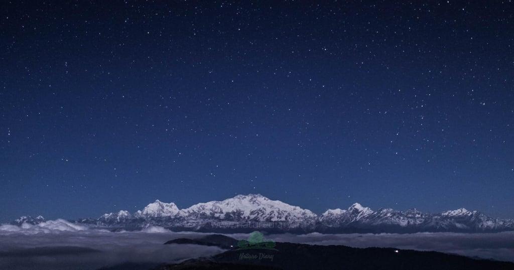 sandakphu night sky