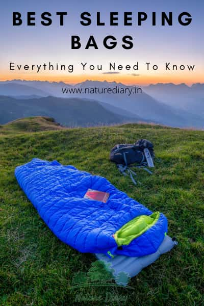 Advantages of the best sleeping bags in India