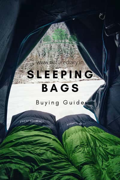 buying guide for the best sleeping bag for cold weather in India