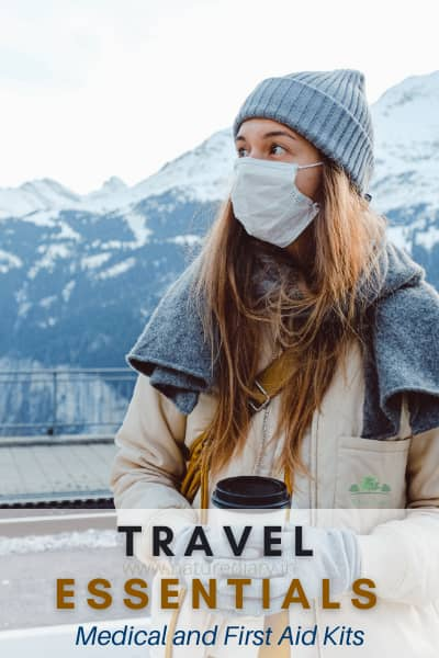 medical and first aid travel essentials