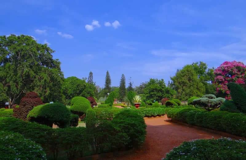 Lal Bagh Botanical Garden near bangalore