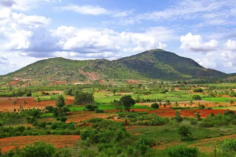 Nandi Hills near Bengaluru