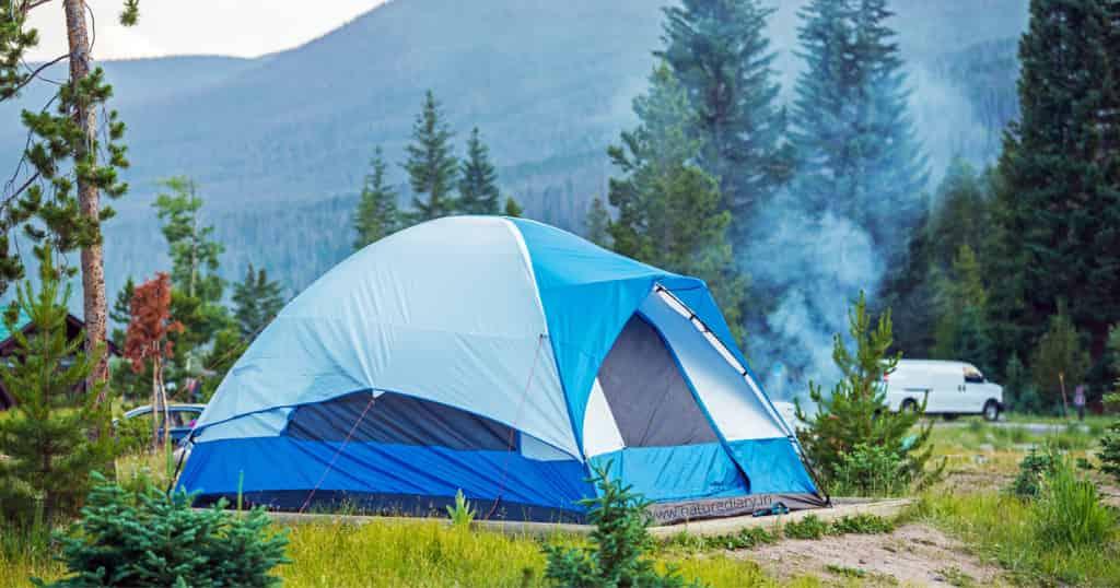 camping tent material