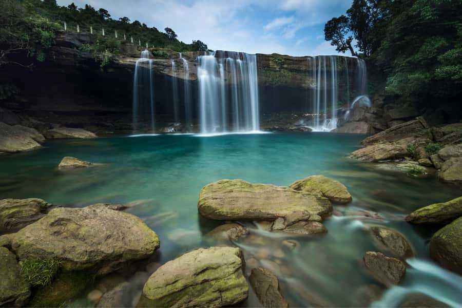 Krang Suri Waterfall in Meghalaya