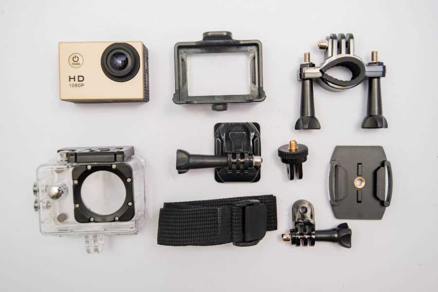 parts of action camera