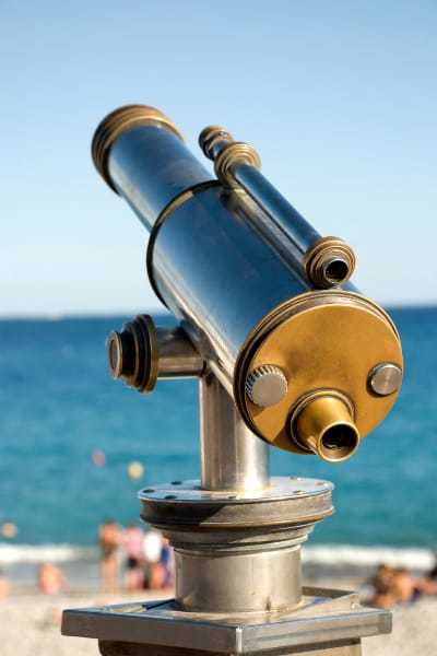 sturdy telescope with high build quality