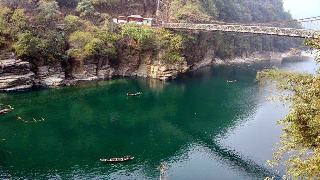 beautiful dawki river