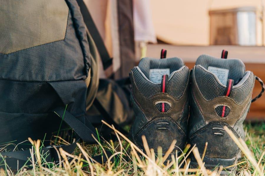 trekking clothing and footwear