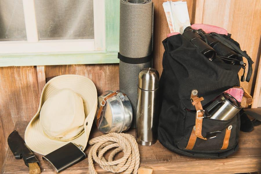 trekking essential tools and equipment