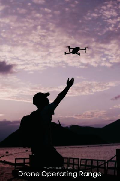 drone operating range