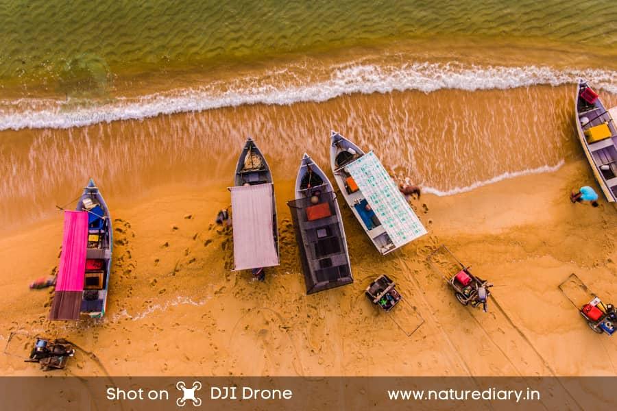 shot on DJI drone