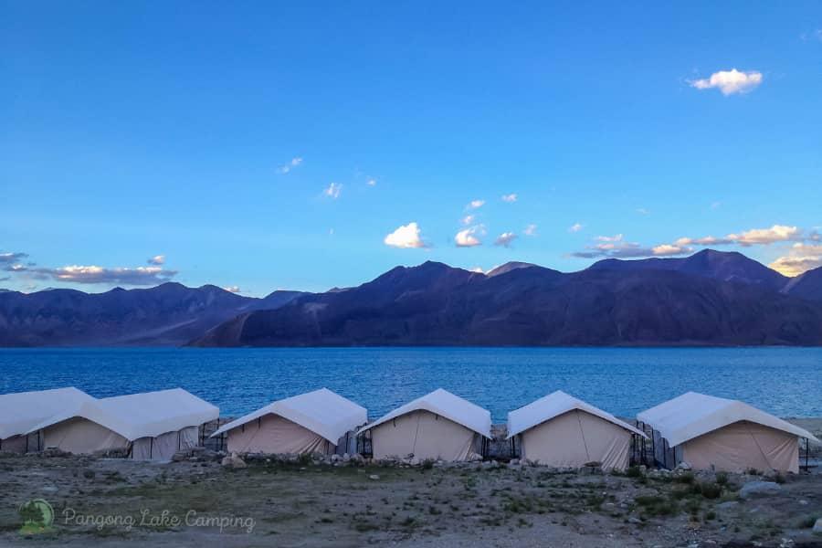 Pangong lake Camping, Ladakh