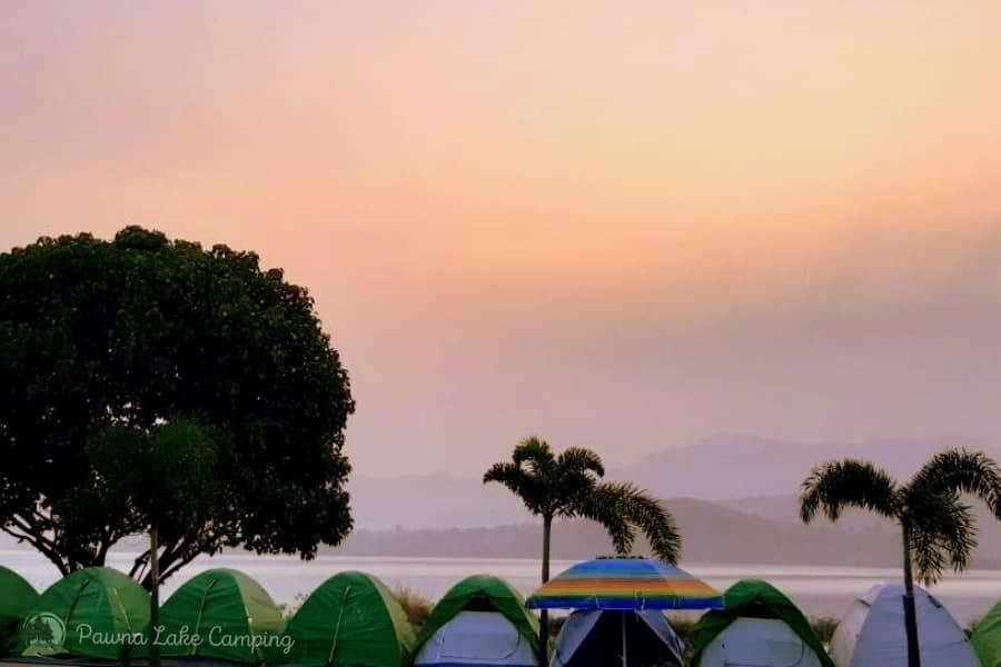 Pawna Lake Camping, Maharashtra